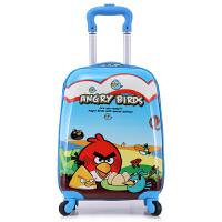 儿童拉杆箱女猫儿童旅行箱女18英寸卡通可爱男孩行李箱米妮米奇登机箱宝宝可坐拖箱