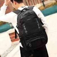 双肩包男背包旅行包户外轻便运动女行李包时尚潮流休闲书包登山包