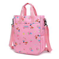 儿童补习袋小学生手提包美术袋拎书袋子斜挎包男女补课书包