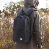 双肩包男韩版男轻便休闲旅行背包时尚潮流学生书包简约青年电脑包
