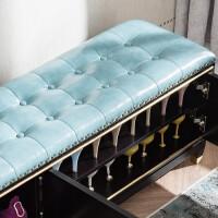 换鞋柜新中式实木换鞋凳大容量收纳凳鞋柜可坐式穿鞋凳沙发储物凳