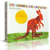 英文原版 Does a Kangaroo Have a Mother, Too?袋鼠也有妈妈 0-3-5岁低幼儿童启蒙