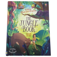 The Jungle Book 英文原版 Usborne经典儿童文学系列:丛林之书/奇幻森林 原文无删减 全彩插图版