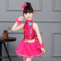 六一儿童演出服装女童舞蹈服少儿蓬蓬纱裙新款走秀服幼儿园表演服