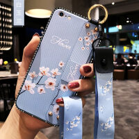 优品iphone6手机壳苹果6s腕带6plus保护硅胶套i6防摔软壳6p女款ip6潮6sp个性创意s
