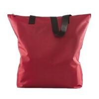 男女尼龙包女包大包防水拉链购物袋帆布单肩包手提牛津布包环保袋 酒红色 210D