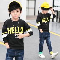 童装男童卫衣春装新款儿童春季打底衫中大童休闲上衣韩版潮衣