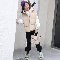 女童三件套秋冬装2018新款儿童韩版洋气卫衣套装时髦加绒大童装潮