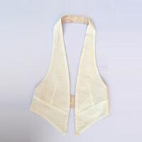 棉麻马甲女短款夏季单修身轻薄款开衫外套显瘦休闲外搭潮