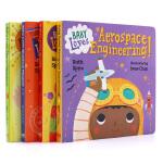 现货宝宝爱科学 低幼科普探索4册纸板书英文原版绘本 baby Loves science系列 3-6岁儿童英语启蒙亲子