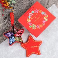 婚礼喜糖成品结婚庆用品马口铁糖盒含糖巧克力10颗装整箱50盒 红色 明治巧克力10颗装 整箱出售(50盒)送手拎袋