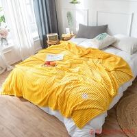 小毛毯被子夏天薄款办公室午睡夏季空调毯法兰绒毛巾被珊瑚绒毯子