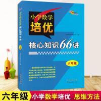 新版 68所名校图书 六年级小学数学培优核心知识66讲知识大全小学