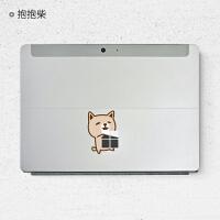 Surface Go贴膜微软笔记本电脑贴膜平板保护膜surface创意贴纸SN6262