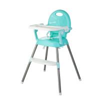 W 宝宝餐椅婴儿餐桌椅子可折叠便携bb凳多功能吃饭座椅儿童餐椅凳子J29