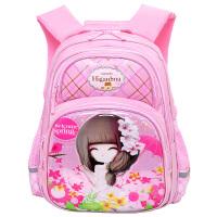 小学生1-3-4一年级花花姑娘护脊儿童书包女6-12周岁女孩女童书包
