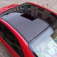 - 车顶膜 全景天窗膜亮黑三层带导气槽贴膜 车身装饰件贴膜保护车漆 改装专用贴膜 改 1.35宽x2.0米二厢车推荐