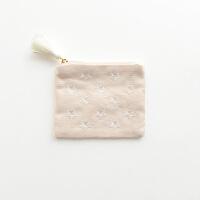 金色星星刺绣纸巾包 小号姨妈巾包卫生巾包护垫收纳