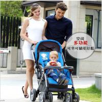【支持礼品卡】大号婴儿推车避震折叠可坐可躺简易宝宝好儿童双向高景观婴儿车 6ou