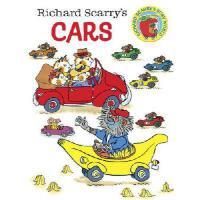 Richard Scarry's Cars 英文原版 斯凯瑞童书:汽车