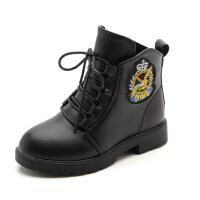 女童新款棉鞋冬季保暖靴加绒短靴子韩版儿童雪地棉靴公主靴中大童