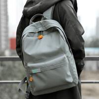 2020新款双肩包男时尚潮流高中大学生休闲书包男士简约旅行背包
