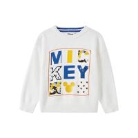 【1件5折到手价:84.5】moomoo童装男童毛衣儿童迪士尼米奇时尚提花毛衣2020春新款打底衫
