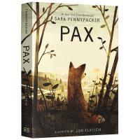 狐狸帕克斯 英文原版 Pax 英文版儿童文学小说 凯迪克大奖作者Jon Klassen作品 可搭淘气的阿柑 现货正版进