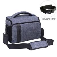 佳能单反相机包 单肩摄影包800D750D200D77D尼康D7200D5300便携M6