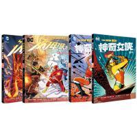 闪电侠 漫画 套装2册 1-2册 闪电侠 DC 英雄 漫画 美国英雄漫画+神奇女侠1血脉+2勇气 套装2册 DC漫画