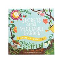 菜园的秘密 神奇的光影魔术书 用手电筒探索大自然的奥秘Secrets of the Vegetable Garden儿