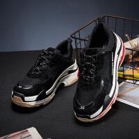【秒杀价61.9元,仅限10.10日】唐狮夏季女士老爹鞋女鞋潮流学生英伦运动鞋休闲低帮鞋韩版鞋板鞋