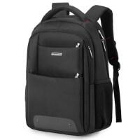 新款男士商务休闲电脑旅行包男潮流背包 校园简约大高初中学生书包双肩背包