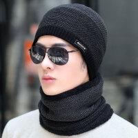 帽子男冬天男士针织帽毛线帽秋冬套头帽子冬季保暖帽