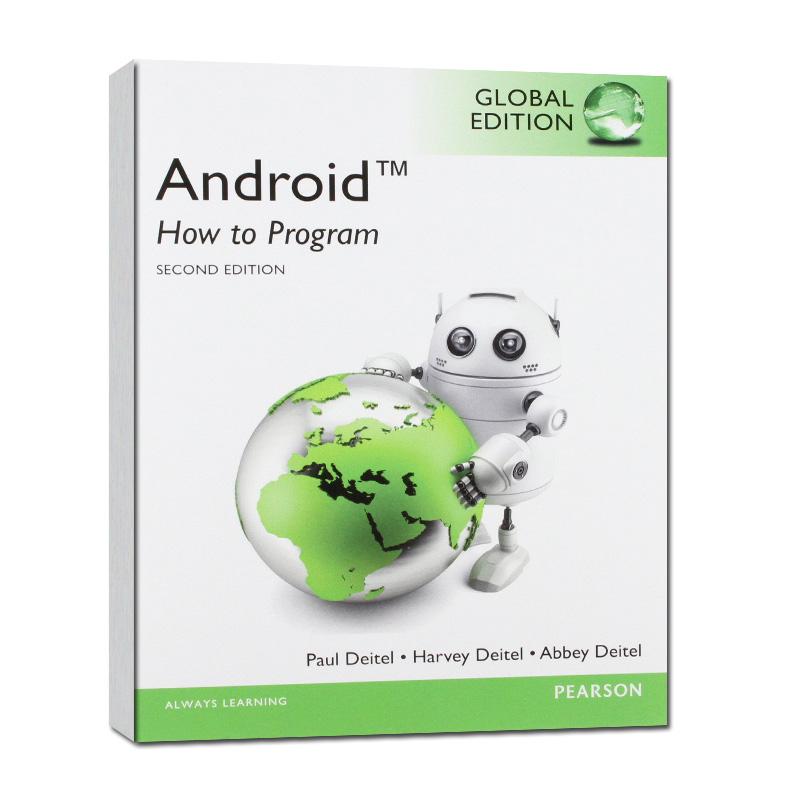 高校计算机类双语教学推荐原版教材: 安卓系统如何编程