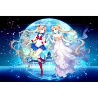 美少女战士姊妹同心木质1000片拼图卡通玩具新年礼物 1
