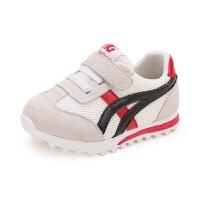 拥抱熊 春季新款儿童鞋子宝宝鞋男1-3岁休闲运动小白鞋女婴儿软底学步鞋