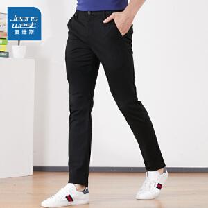 [尾品汇价:77.9元,20日10点-25日10点]真维斯男装夏装  时尚简约休闲长裤
