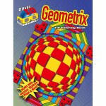 3-D Coloring Book - Geometrix(POD)