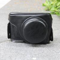 适用于松下微单GF9 GF8相机包GF6皮套GF7摄影包GF5保护套肩带底座 GF9+12-32mm 黑色