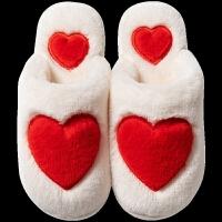 棉拖鞋男士冬天保暖家用防滑可爱毛绒厚底室内日式软底情侣女月子