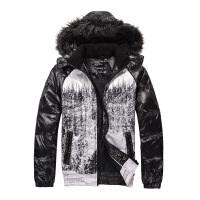 思莱德灰鸭绒男装冬季羽绒服外套41-5-411412023010