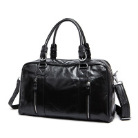 男包大容量旅行包短途出差男士手提包百搭时尚户外行李袋潮流商务旅行水桶带