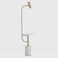 北欧落地灯客厅卧室床头后现代简约创意大理石茶几LED立式台灯具