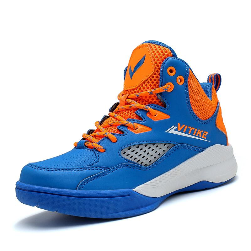 儿童篮球鞋男鞋2018新款耐磨减震透气比赛小初中学生高帮战靴运动鞋