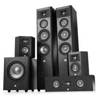 JBL STUDIO 280套装5.1家庭影院音响家用客厅环绕组合落地式音箱