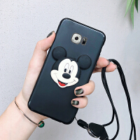 三星s7手机壳s7g9308套盖乐世软7s硅胶G930f套子sm-g9300壳子5.1寸全包直屏外套 三星S7 -黑色