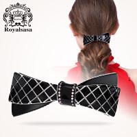 皇家莎莎弹簧夹发夹日韩发饰顶夹女士发卡韩版头饰马尾夹横夹饰品
