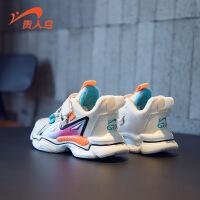 【品牌钜惠:69元】贵人鸟男童运动鞋子2020年冬季新款儿童加绒皮面二棉鞋秋冬款棉鞋
