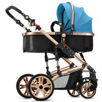 20180824082221144赛利迪SLD婴儿推车高景观宝宝可坐可躺轻便折叠避震双向四轮手童